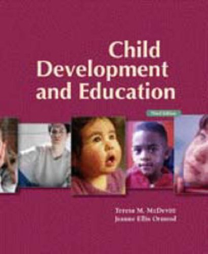 9780132432764: Child Development and Education with Observing Children & Adolescents CD PKG. (3rd Edition)