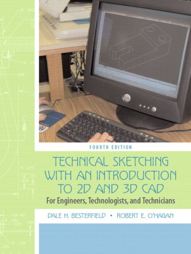9780132432788: Technical Sketching with an Introduction to Autocad: for Engineers, Technologists, and Technicians