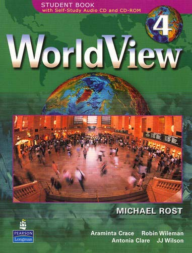 9780132432993: WorldView 4 with Self-Study Audio CD and CD-ROM