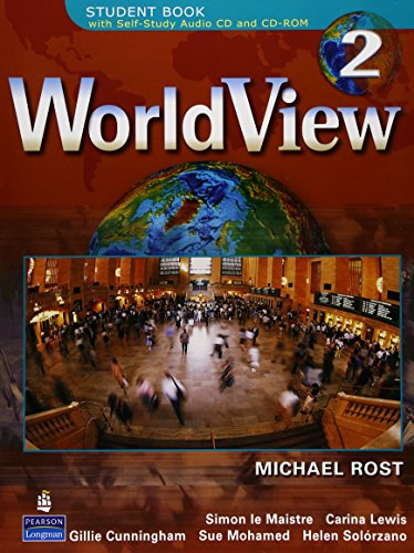 9780132433013: WorldView 2 STUDENT BOOK with Self-Study Audio CD and CD-ROM