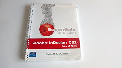9780132433327: Ess for Design Adobe Indesign& Studnt CD Pkg