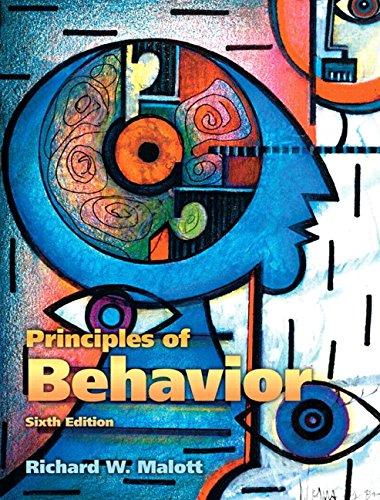 9780132433631: Principles of Behavior
