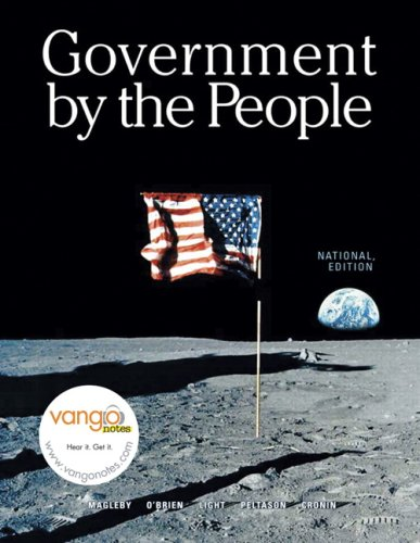 9780132434416: Government By the People, National Version