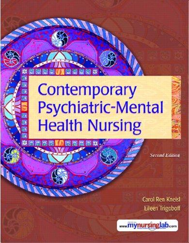 9780132434898: Contemporary Psychiatric-Mental Health Nursing (2nd Edition)