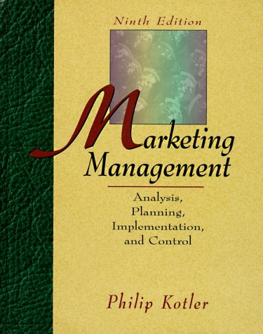 9780132435109: Marketing Management: Analysis, Planning, Implementation, and Control