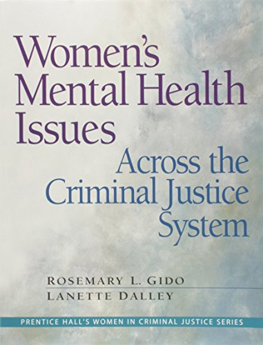 9780132435352: Women's Mental Health Issues Across The Criminal Justice System
