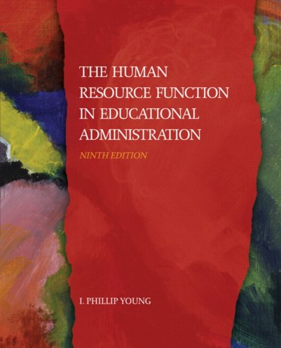 9780132435413: The Human Resource Function in Educational Administration, Ninth Edition