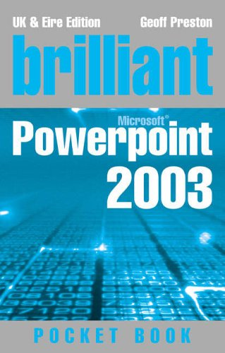 9780132435635: Brilliant Powerpoint Pocketbook (Brilliant Pocket Book)