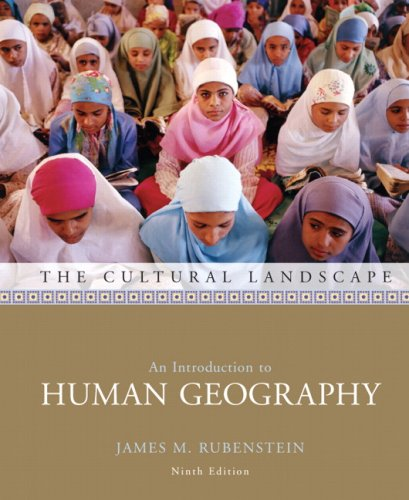 9780132435734: The Cultural Landscape: An Introduction to Human Geography (9th Edition)