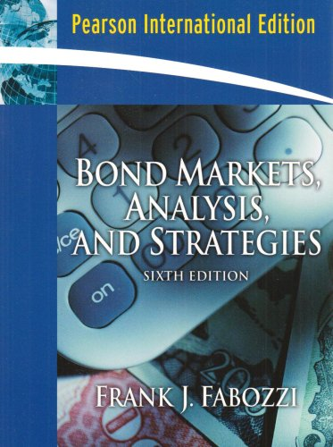 9780132436267: Bond Markets, Analysis and Strategies