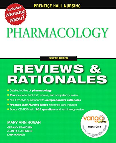 9780132437103: Prentice-Hall Reviews & Rationales: Pharmacology, 2nd Edition)