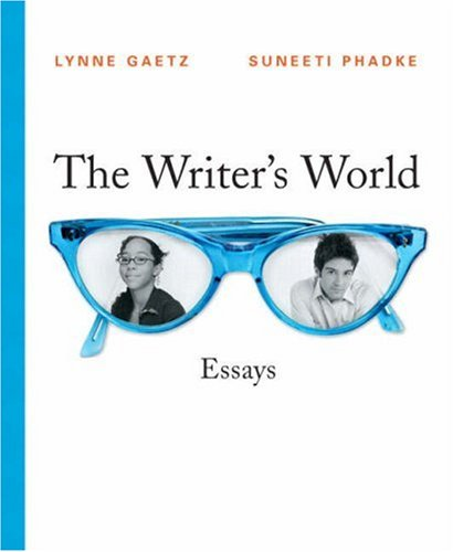 9780132437226: The Writer's World: Essays