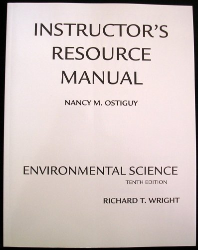 9780132438438: Instructor's Resource Manual, Enviromental Science, 10th Ed.