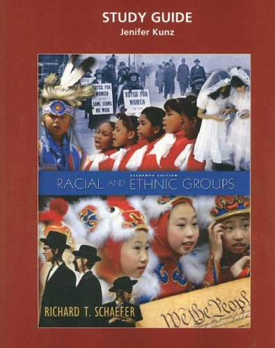 9780132438773: Study Guide to accompany Racial and Ethnic Groups, 11th Edition