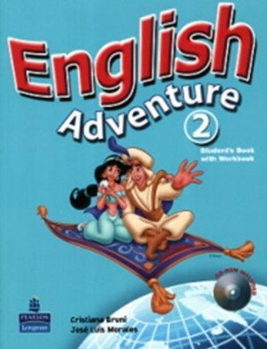 9780132439718: English Adventure 2. Student's Book/ Activity Book (+ CD-ROM) (Em Portuguese do Brasil)