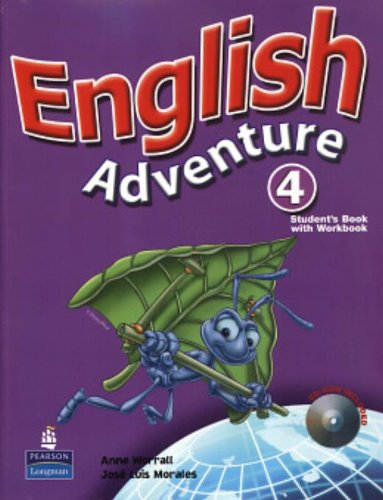 9780132439749: English Adventure 4. Students Book (+ Workbook + CD-ROM) (Em Portuguese do Brasil)