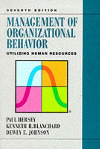 9780132441124: Management of Organizational Behavior: Utilizing Human Resources (7th Edition)