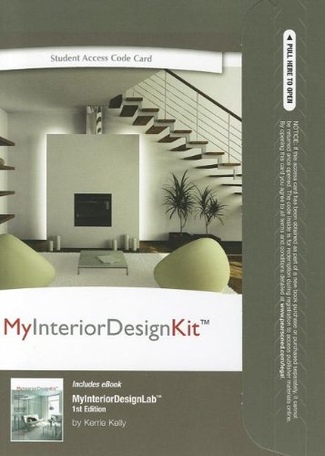 9780132443869: MyInteriorDesignKit with Pearson eText -- Access Card -- for Companion Book for MyInteriorDesignKit