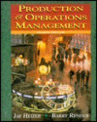 9780132444842: Production and Operations Management, Revised Printing