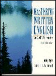 9780132445269: Mastering Written English: The Comp-Lab Exercises, Level 1