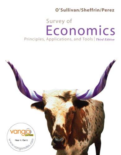 9780132447027: Survey of Economics (3rd Edition) (MyEconLab Series)