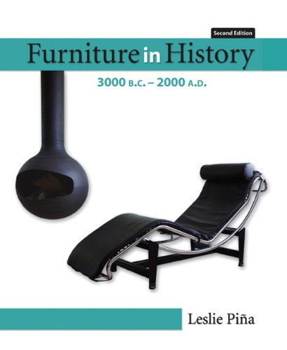9780132447287: Furniture in History: 3000 B.c. - 2000 A.d.