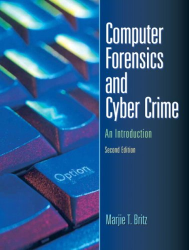 9780132447492: Computer Forensics and Cyber Crime: An Introduction