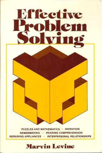 9780132448239: Effective Problem Solving