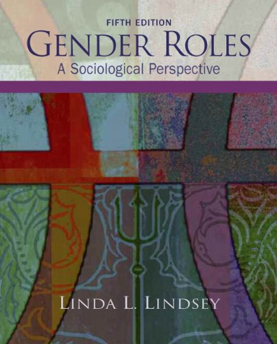 9780132448307: Gender Roles: A Sociological Perspective (5th Edition)