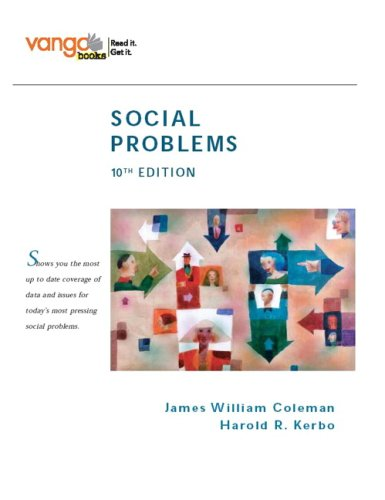 9780132448451: Social Problems, VangoBooks (10th Edition)