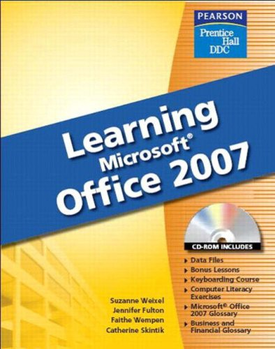 9780132448604: Learning Office 2007 Softcover Student Edition