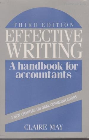 9780132448642: Effective writing: A handbook for accountants