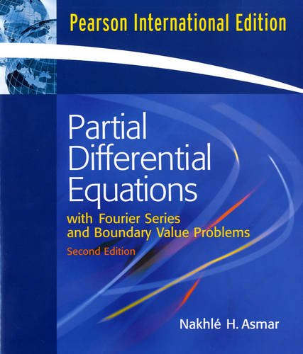 9780132449007: Partial Differential Equations and Boundary Value Problems with Fourier Series