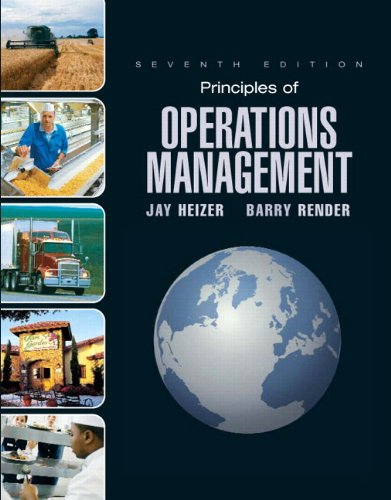 9780132449755: Principles of Operations Mangement