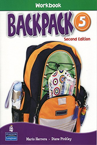 9780132450164: Backpack 5 Workbook with Audio CD