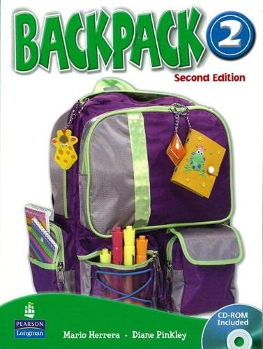 9780132451260: Backpack 2 Class Audio CD