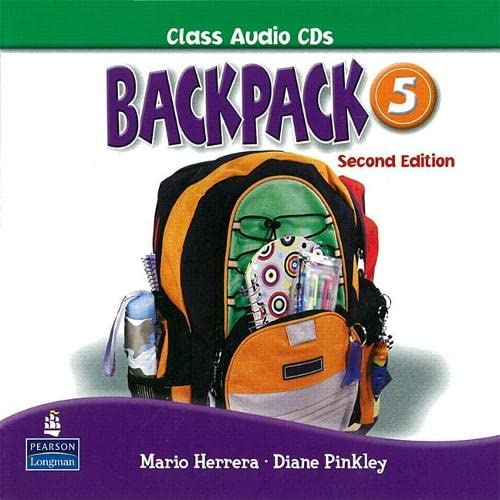 9780132451543: Backpack 5 Class Audio CD