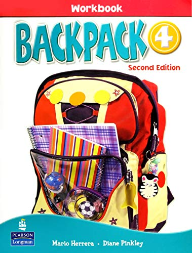 9780132451673: Backpack 4 Workbook with Audio CD