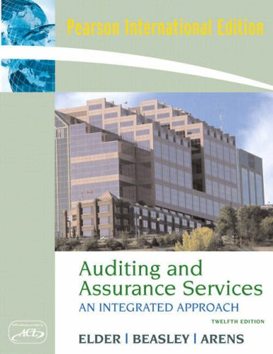 9780132452250: Auditing and Assurance Services: An Intergrated Approach and ACL Software