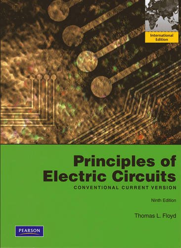 9780132453127: Principles of Electric Circuits: Conventional Current Version