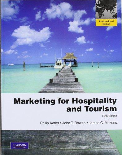 9780132453134: Marketing for Hospitality & Tourism: International Edition