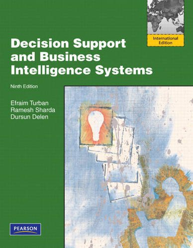 9780132453233: Decision Support and Business Intelligence Systems: International Edition