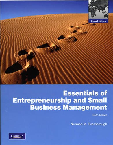 9780132453264: Essentials of Entrepreneurship and Small Business Management: Global Edition