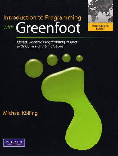 9780132454285: Introduction to Programming with Greenfoot: Object-Oriented Programming in Java with Games and Simulations