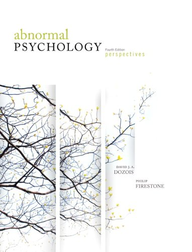 9780132454445: Abnormal Psychology: Perspectives, Fourth Edition with MyPsychKit (4th Edition)