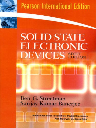 9780132454797: Solid State Electronic Devices