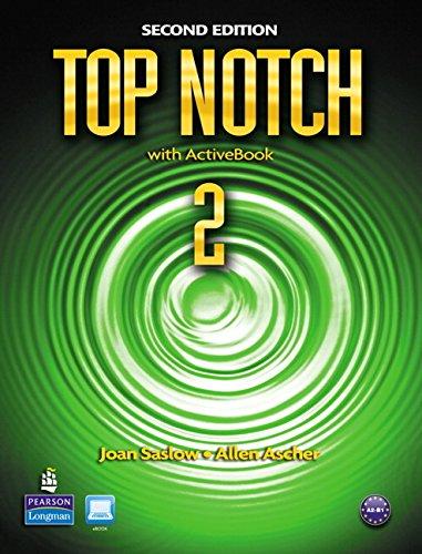 9780132455589: Top Notch 2 with ActiveBook