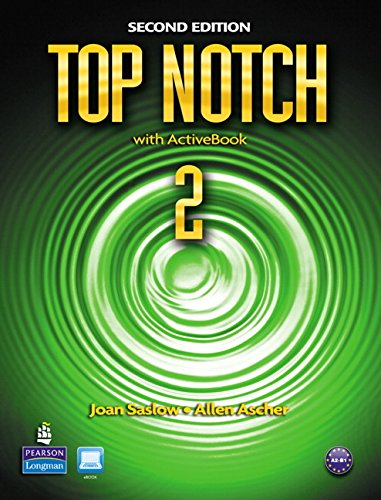 9780132455589: Top Notch 2 with ActiveBook, 2nd Edition