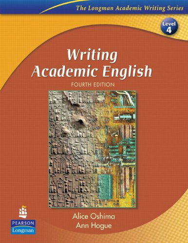 9780132456562: Writing Academic English + Eye on Editing 2
