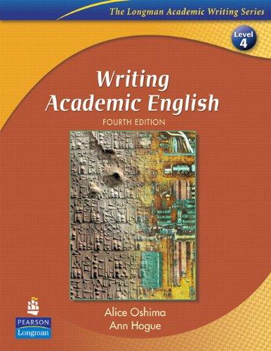 9780132456562: Writing Academic English and Eye on Editing 2: Value Pack (The Longman Academic Writing, Level 4)